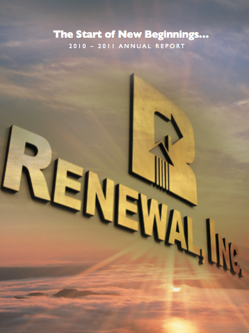 Renewal Annual Report 2010-2011