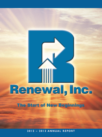 Renewal Annual Report 2012-2013